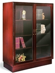 Den Master Deep Case with Hinged Double Doors [115417DD-FS-HALE]