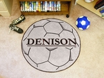 Denison University Soccer Ball Mat 27'' Diameter [3553-FS-FAN]
