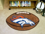 Denver Broncos Football Rug [5719-FS-FAN]