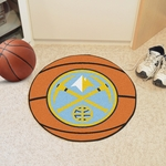 Denver Nuggets Basketball Mat 27'' Diameter [10215-FS-FAN]