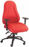 Designer Series Atlas High Back Chair with Executive Control [E-85684-FS-EOF]