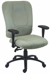 Titan 27'' W x 26'' D x 42'' H Adjustable Height High-Back Chair with Deluxe Control [E-96882-FS-EOF]