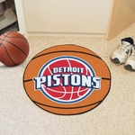 Detroit Pistons Basketball Mat 27'' Diameter [10214-FS-FAN]