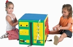 Developmental Play Cube - 17''L x 17''W x 17''H [CF332-473-FS-CHF]