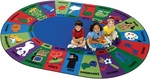 Dewey Decimal Fun Reading Rug [5795-FS-CAP]
