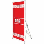 DFA Imports 7 Spring Back Banner Stand [SB-7-FS-OR]