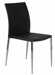 Diana Side Chair in Black [02348BLK-FS-ERS]