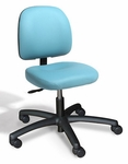 Dimension Small Back Desk Height Chair - 2 Way Control [DMSD2-FS-CRA]
