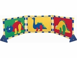 Multicolor Dinosaur Playpanel Set [CF900-353-FS-CHF]
