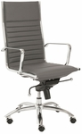Dirk High Back Office Chair in Gray [00675GRY-FS-ERS]