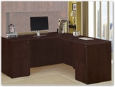 DMI Furniture - Saratoga Mocha Office Furniture Collection
