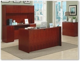 DMI Furniture - Saratoga Pinot Cherry Office Furniture Collection