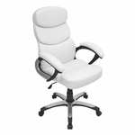 Doctorate Office Chair White [OFC-AC-DOC-W-FS-LUMI]
