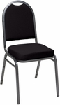 520 Series Stacking Armless Hospitality Chair with Rounded Back and 2'' Upholstered Seat [IM520-IFK]