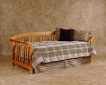 Dorchester Solid Wood Daybed Set with Suspension Deck - Country Pine [1104DBLH-FS-HILL]