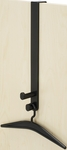 Double Over the Door Hook with Hangers -Set of Six - Black [4228BL-FS-SAF]