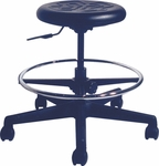 Dove Scooter Stool with 325 lb Weight Capacity - Urethane [16017-PY-FS-ALL]