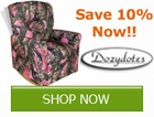 Dozy Dotes Recliner Sale!!! Save by