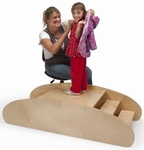 Multi-Functional Dressing Bench/Rocking Boat [WB5130-FS-WBR]