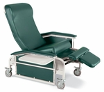 Drop Arm Care Cliner Steel Casters [6551-FS-WIN]