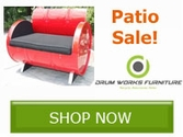 Drum Works Outdoor Furniture Sale!!
