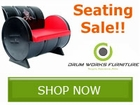 Drum Works Seating Sale!! Save by