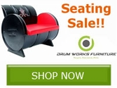Drum Works Seating Sale!! Save Now!!