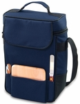 Duet Wine and Cheese Tote - Navy [623-04-138-000-0-FS-PNT]