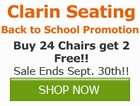 Buy 24 Chairs, Get 2 Free from Clarin by