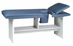 Echo-Scan Table in Folkstone Gray - 27''W X 76''L X 31''H [HAU-4892-FS-HAUS]