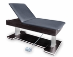 Econo Bariatric Hi-Lo Treatment Table with Power Backrest - 32''W X 78''L X 22 - 31''H [HAU-4797-FS-HAUS]