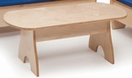 Birch Laminate Childrens Economy Coffee Table [WB8080-FS-WBR]