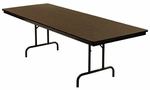 Customizable Economy 100 Series Fixed Height General Use Table - 30''H [100-1P-BKS]