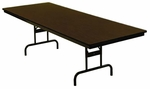 Customizable Economy 110 Series Adjustable Height General Use Table - 23'' - 30''H [110-1P-BKS]
