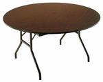 Customizable Economy 130 Series Round Fixed Height Table - 29''H [131-P-BKS]