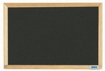 Economy Series Black Composition Chalkboard with Wood Frame 12''H x 18''W [EC1218B-AA]