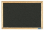 Economy Series Black Composition Chalkboard with Wood Frame - 12''H x 18''W [EC1218B-AA]