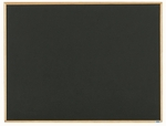 Economy Series Black Composition Chalkboard with Wood Frame 36''H x 48''W [EC3648B-AA]