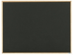 Economy Series Black Composition Chalkboard with Wood Frame - 36''H x 48''W [EC3648B-AA]