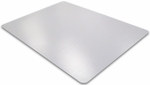 48''W x 51''L Ecotex 100% Post Consumer Recycled Rectangular Anti-Slip Chairmat for Hard Floors [ECO4851AEP-FS-FTX]