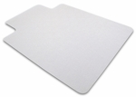 36''W x 48''L Ecotex 100% Recycled Chairmat with Lip for Hard Floors and Low Pile Carpets [ECO3648LP-FS-FTX]