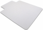36''W x 48''L Ecotex 100% Recycled Chairmat with Lip for Hard Floors [ECO3648LP-FS-FTX]