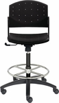 Eddy Medium Height Swivel Drafting Stool [ED4400-660-FS-DV]