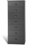 Edenvale 7 Drawer 50.5''H Chest with Matching Plastic Knobs - Oak [OBD-2050-7-FS-PP]