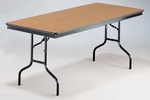 EF Series Rectangular Plywood Core Folding Table - 30''W x 48''L x 30''H [430EF-MFT]