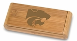 Elan Corkscrew - Bamboo - Kansas State University Engraved [868-00-505-253-0-FS-PNT]