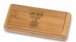 Elan Corkscrew - Bamboo - Texas Tech University Engraved [868-00-505-573-0-FS-PNT]