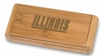 Elan Corkscrew - Bamboo - University of Illinois Engraved [868-00-505-213-0-FS-PNT]