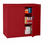 Elite Series 36'' W x 18'' D x 42'' H Counter Height Cabinets with Adjustable Shelves - Red [EA2R-361842-01-EEL]