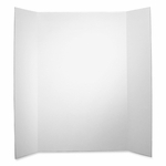 Elmer's Single Ply Display Board - Corrugated - 36'' x 48'' - White [EPI730300-FS-SP]